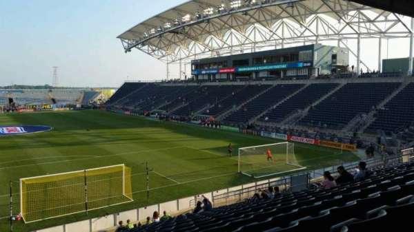 Talen Energy Stadium, section: 118, row: W, seat: 1