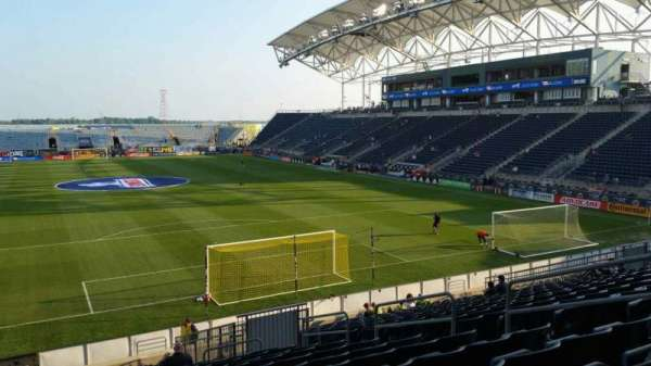Talen Energy Stadium, section: 118, row: W, seat: 10