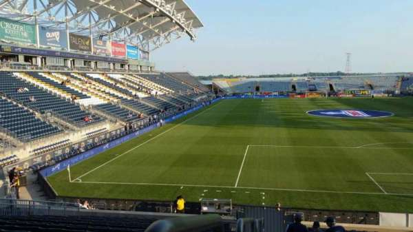 Talen Energy Stadium, section: 118, row: W, seat: 23