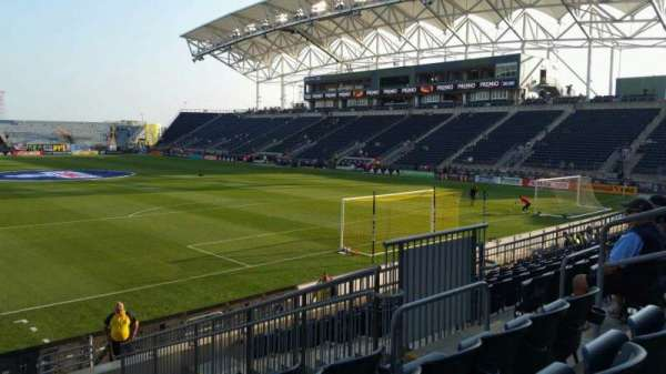 Talen Energy Stadium, section: 119, row: M, seat: 9