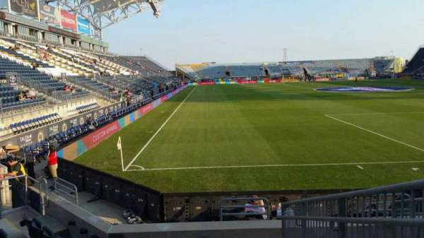 Talen Energy Stadium, section: 120, row: H, seat: 1