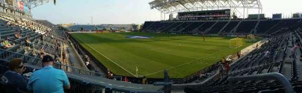 Talen Energy Stadium, section: 121, row: R, seat: 1