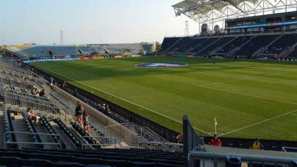 Talen Energy Stadium, section: 121, row: R, seat: 11