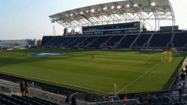 Talen Energy Stadium, section: 121, row: R, seat: 21