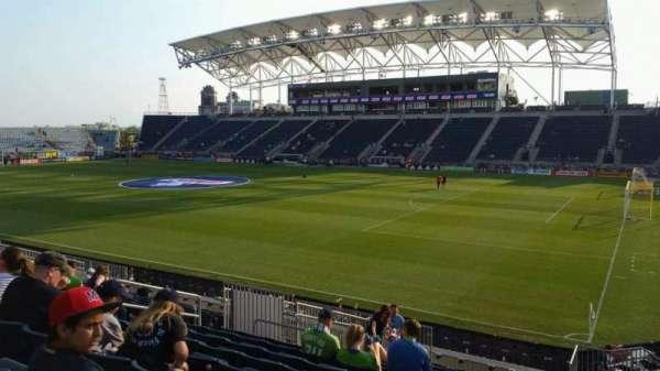 Talen Energy Stadium, section: 122, row: T, seat: 10