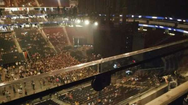 Prudential Center, section: 111, row: 1, seat: 5