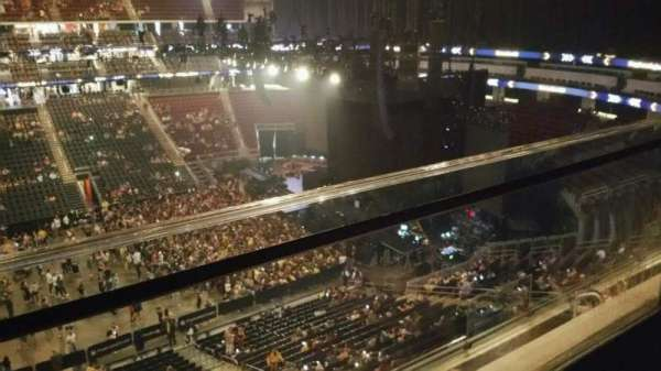 Prudential Center, section: 111, row: 1, seat: 4