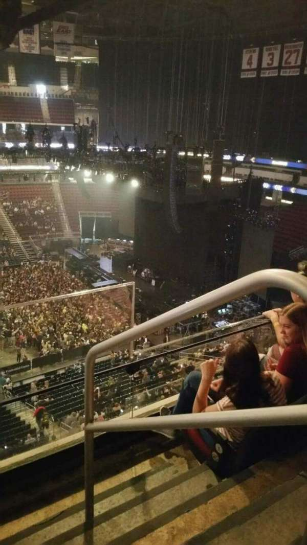 Prudential Center, section: 111, row: 3, seat: 1