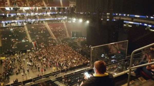 Prudential Center, section: 111, row: 3, seat: 4
