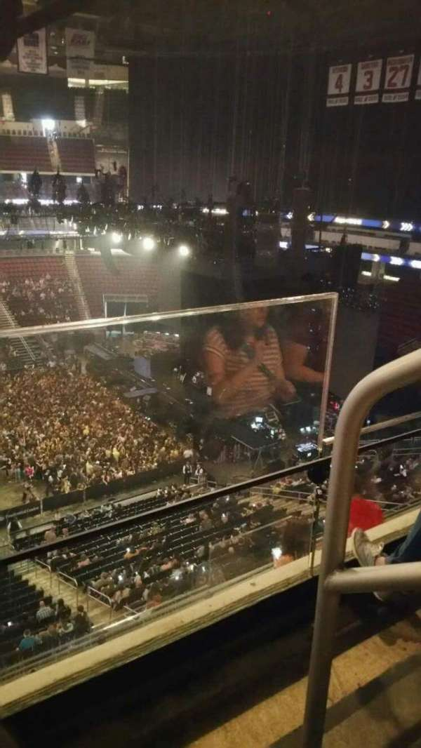 Prudential Center, section: 111, row: 2, seat: 1