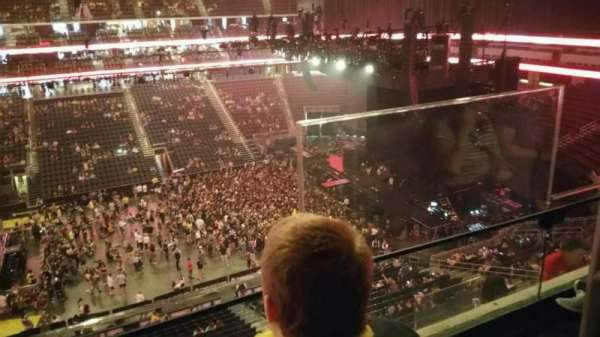 Prudential Center, section: 111, row: 2, seat: 2