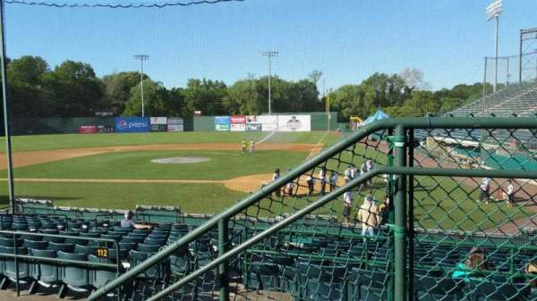 New Britain Stadium, section: 211, row: A, seat: 1