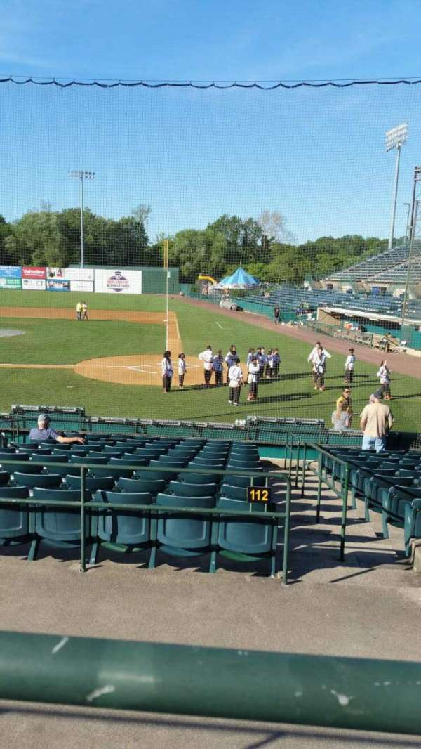 New Britain Stadium, section: 211, row: A, seat: 8