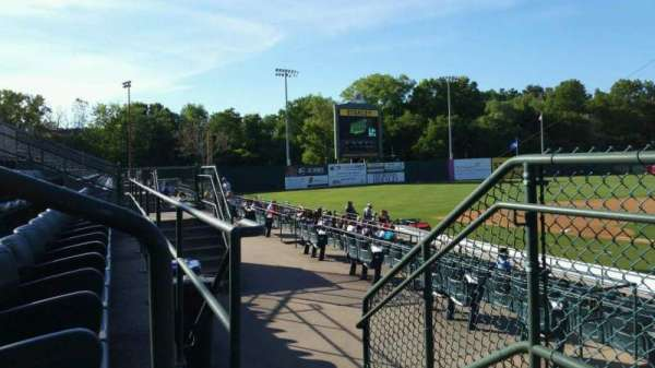 New Britain Stadium, section: 211, row: A, seat: 20