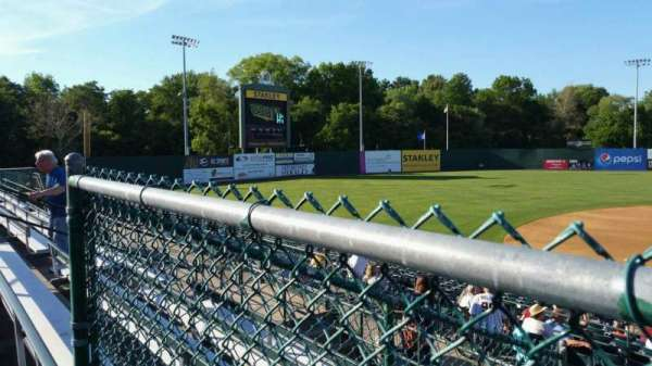 New Britain Stadium, section: 213, row: E, seat: 9
