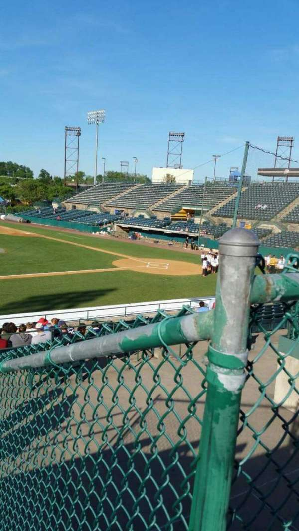 New Britain Stadium, section: 213, row: E, seat: 14