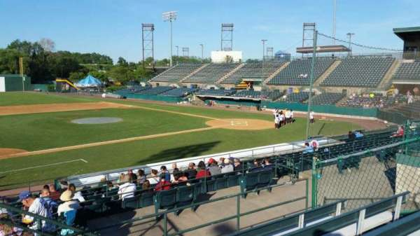 New Britain Stadium, section: 213, row: E, seat: 22