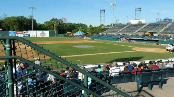 New Britain Stadium, section: 213, row: A, seat: 9