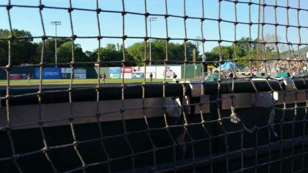 New Britain Stadium, section: 110, row: A, seat: 1