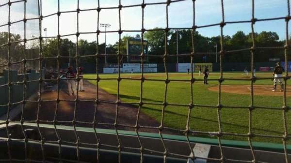 New Britain Stadium, section: 110, row: A, seat: 5