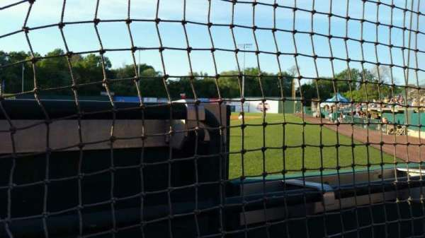 New Britain Stadium, section: 110, row: A, seat: 10