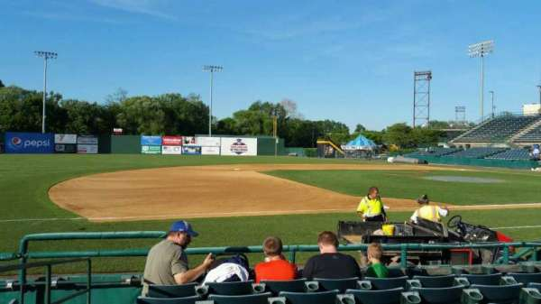New Britain Stadium, section: 116, row: F, seat: 14