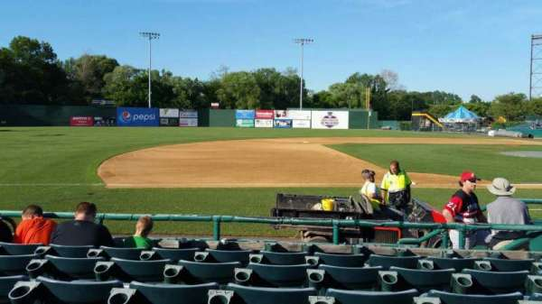 New Britain Stadium, section: 116, row: F, seat: 7