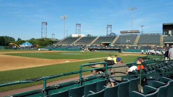 New Britain Stadium, section: 117, row: D, seat: 8