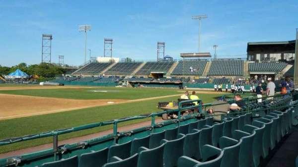 New Britain Stadium, section: 117, row: D, seat: 14
