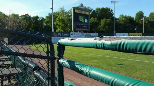 New Britain Stadium, section: 118, row: A, seat: 15