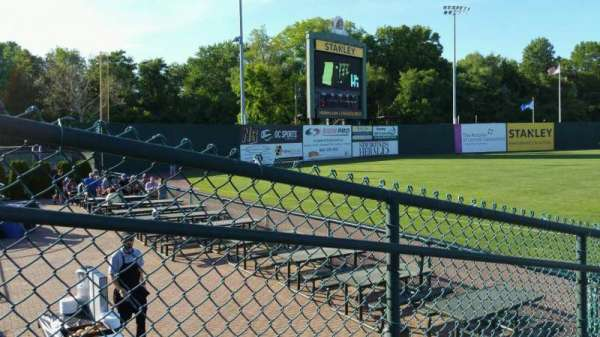 New Britain Stadium, section: 118, row: H, seat: 15