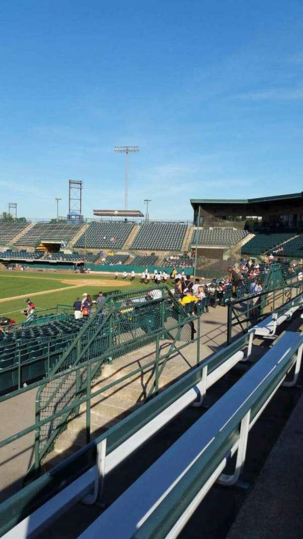 New Britain Stadium, section: 215, row: C, seat: 13
