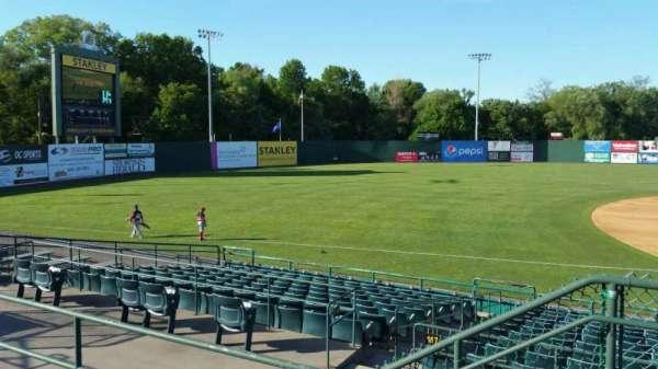 New Britain Stadium, section: 215, row: C, seat: 1