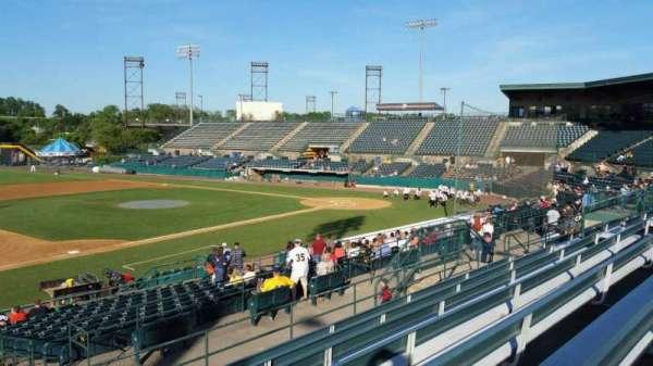 New Britain Stadium, section: 214, row: G, seat: 22