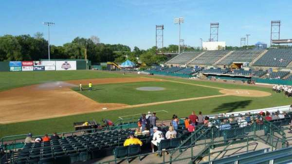 New Britain Stadium, section: 214, row: G, seat: 12
