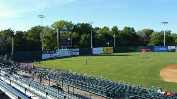 New Britain Stadium, section: 214, row: G, seat: 1