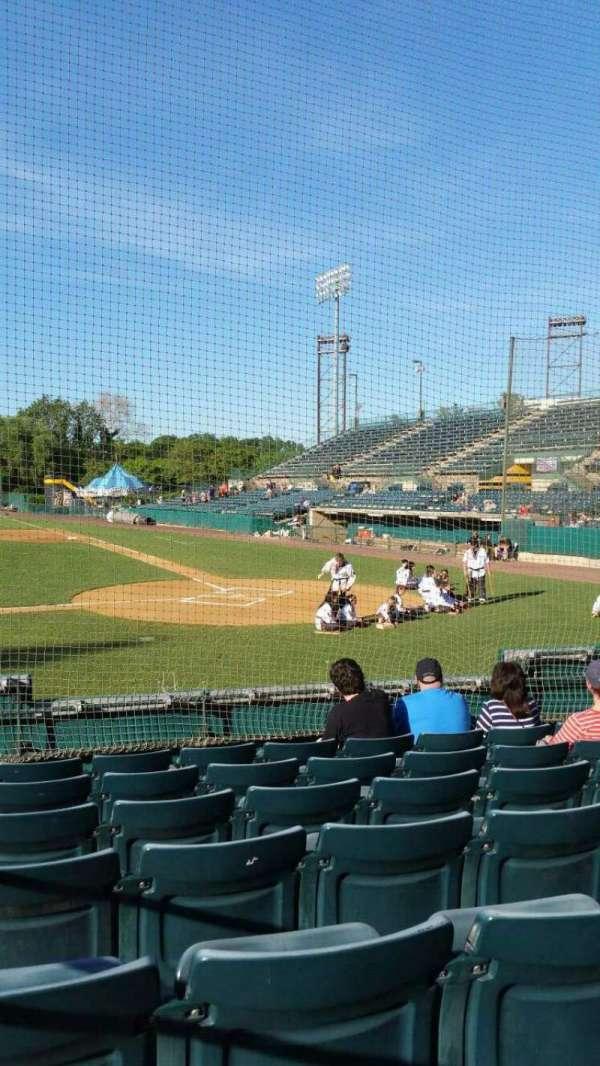 New Britain Stadium, section: 113, row: G, seat: 8