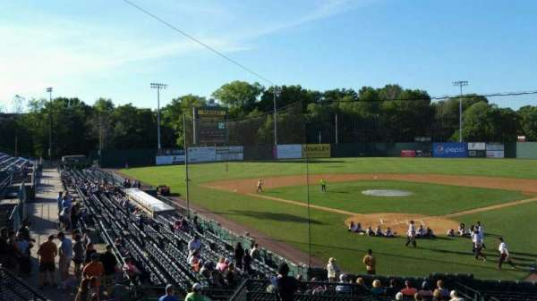 New Britain Stadium, section: 208, row: H, seat: 16