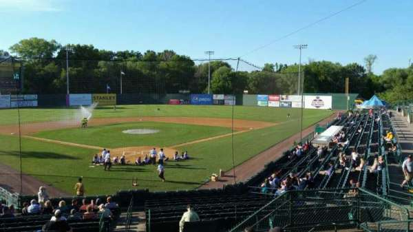 New Britain Stadium, section: 208, row: H, seat: 8