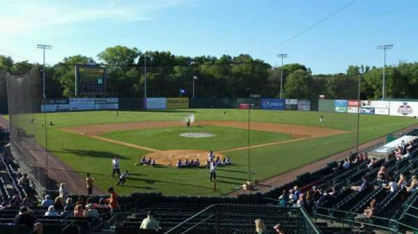 New Britain Stadium, section: 208, row: H, seat: 1