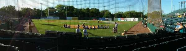 New Britain Stadium, section: 109, row: D, seat: 12