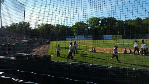 New Britain Stadium, section: 109, row: D, seat: 7