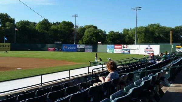 New Britain Stadium, section: 105, row: H, seat: 10