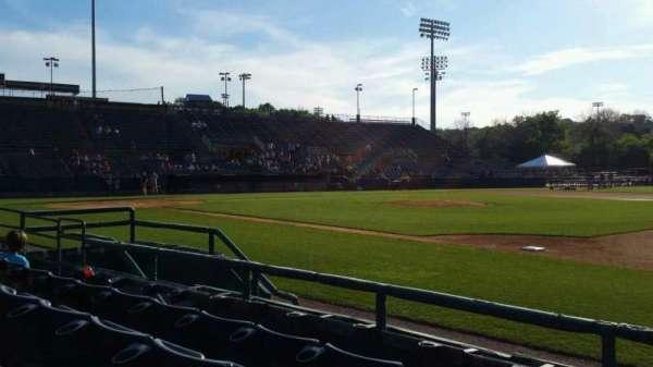 New Britain Stadium, section: 103, row: D, seat: 1