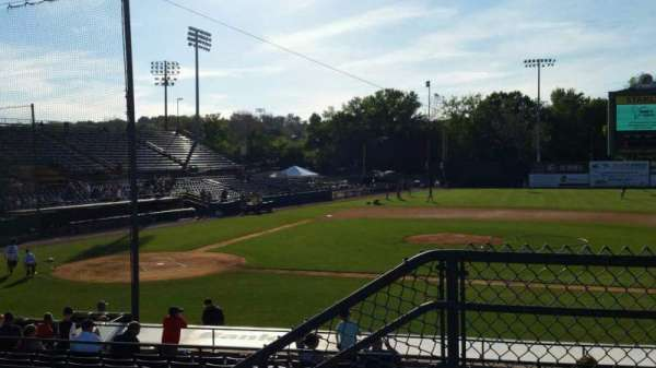 New Britain Stadium, section: 204, row: B, seat: 1