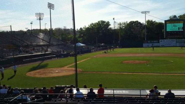 New Britain Stadium, section: 204, row: B, seat: 9