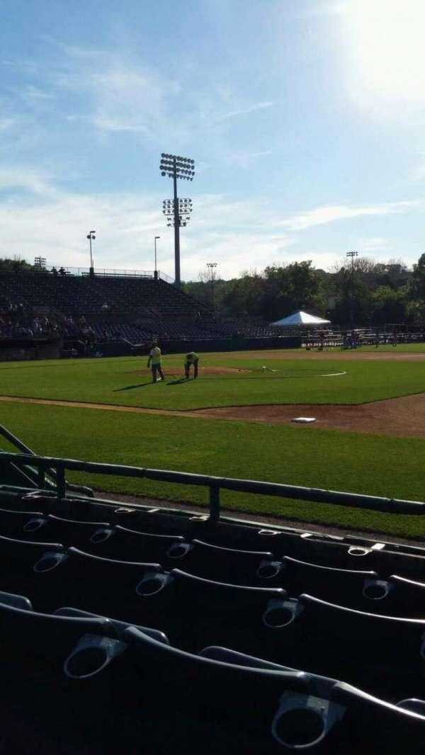 New Britain Stadium, section: 103, row: E, seat: 1