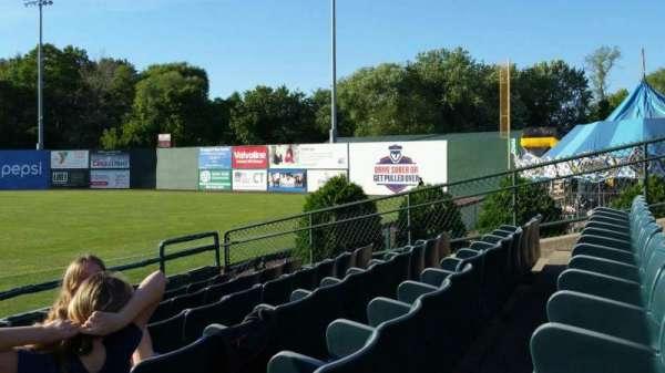 New Britain Stadium, section: 101, row: F, seat: 15