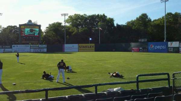 New Britain Stadium, section: 101, row: F, seat: 8