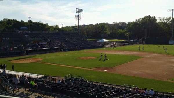 New Britain Stadium, section: 201, row: J, seat: 22